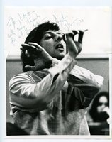 ANDRE PREVIN Photograph HAND SIGNED, INSCRIBED & DATED 1973 by Andre Previn