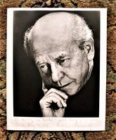 EUGENE ORMANDY Photograph HAND SIGNED, INSCRIBED & DATED 1971 by Eugene Ormandy