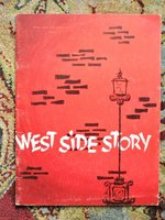 1965 WEST SIDE STORY Program SIGNED by 9 including PAT BOONE, GUS TRIKONIS, ELAINE DUNN, MARLYS WATTERS by (PAT BOONE, GUS TRIKONIS, ELAINE DUNN, MARLYS WATTERS)