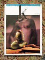 1989 K : KERAMIKOS INTERNATIONAL CERAMICS MAGAZINE w/ ALDO ROSSI on PARMA TOWERS by Aldo Rossi, et al