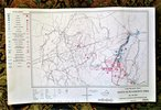 Another image of BATTLE OF FIRST MANASSAS & BLACKBURN'S FORD 1861 - SIX TROOP MOVEMENT MAPS 1981
