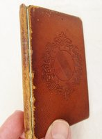 1829 ORIGINE des PROVERBES copy of WILLIAM STIRLING MAXWELL in a CUSTOM BINDING by M. C. BOURDONNÉ
