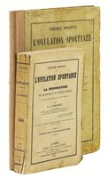 1847 F. A. Pouchet THÉORIE POSITIVE de L'OVULATION SPONTANÉE / SPONTANEOUS GENERATION OF LIFE - 2 VOLUMES including the ATLAS with 20 HAND COLORED PLATES by Félix Archimède Pouchet