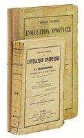 1847 F. A. Pouchet THÉORIE POSITIVE de L'OVULATION SPONTANÉE / SPONTANEOUS GENERATION OF LIFE - 2 VOLUMES including the ATLAS with 20 HAND COLORED PLATES by Félix Archimède Pouchet
