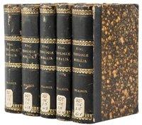 1744-1751 Fr. Benjamin Elbel THEOLOGIAE MORALIS DECALOGALIS **10 VOLUME SET** Ex MOUNT ST. ALPHONSUS SEMINARY by Benjamin ELBEL