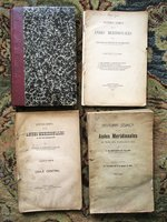 1911 HISTORY OF EARTHQUAKES IN THE ANDES - 5 PARTS in 4 VOLUMES Published in Santiago, Chile by FERNAND DE MONTESSUS DE BALLORE