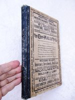 1911 SOUTHINGTON Connecticut CITY DIRECTORY of ALL RESIDENTS + Fold Open MAP