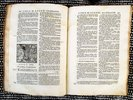Another image of 1731 BIBLIA SACRA Vulgatae Editionis SACRED BIBLE Annotated BAPTISTA DU HAMEL by BAPTISTA DU HAMEL