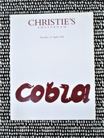 1998 CoBrA ART MOVEMENT 50TH ANNIVERSARY Christie's Auction Catalog ILLUSTRATED