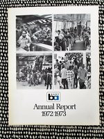 1972/1973 BART BAY AREA RAPID TRANSIT - FIRST ANNUAL REPORT w/ Financials
