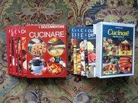 12 VOLUME SET of ITALIAN COOKBOOKS - DOCUMENTARI GUIDE PRATICHE CUCINARE Vol 1 - Vol 12