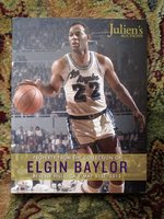 ELGIN BAYLOR COLLECTION Julien's Auction Catalog BASKETBALL GREAT 2013
