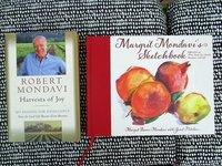 ROBERT MONDAVI & MARGRIT MONDAVI - Two Books - BOTH SIGNED First Editions HARVESTS OF JOY and MARGRIT MONDAVI'S SKETCHBOOK by ROBERT MONDAVI and MARGRIT MONDAVI