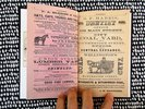 Another image of 1863 WORCESTER, MASS., CITY DIRECTORY with fold open MAP and LISTS of ALL CIVIL WAR VOLUNTEERS