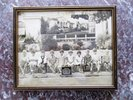 Another image of 1929 BURLINGAME, California, PERSHING GRAMMAR SCHOOL Kindergarten Class FRAMED PHOTOGRAPH Cute Kindergartners