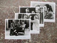 FOUR PHOTOS of INGMAR BERGMAN Directing LENA OLIN in AFTER THE REHEARSAL by Ingmar Bergman, Lena Olin, Erland Josephson