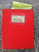 1980s HANDWRITTEN GENEALOGY NOTES re: DESCENDANTS of WALTER PALMER of the 1629 Charlestown, Massachusetts Bay Colony by Muriel Palmer Owen