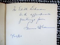 SAMUEL I. ROSENMAN - FRANKLIN DELANO ROOSEVELT SPEECH WRITER & SPECIAL COUNSEL - SIGNED & INSCRIBE by SAMUEL I. ROSENMAN