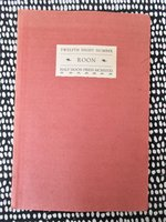 1930 Half Moon Press / Stanford TWELFTH NIGHT Chapbook ISSEI POET BUNICHI KAGAWA by Janet Lewis, Yvor Winters, Ruth Mantz, Bunichi Kagawa, et al