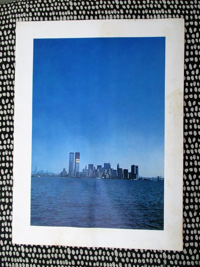 1972 WORLD TRADE CENTER IN CONSTRUCTION - ALCOA ALUMINUM PROMOTIONAL BOOKLET by Alcoa Aluminum Company
