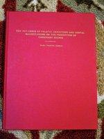 1940 M.A. THESIS University of Washington PALATAL DEVIATIONS & CONSONANT SOUNDS by Ward Thorvel Rasmus