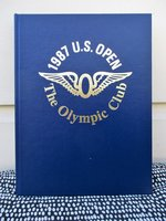 1987 U.S. OPEN at THE OLYMPIC CLUB, SAN FRANCISCO Special BOUND PROGRAM *SIGNED by FUZZY ZOELLER*