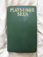 "1912 San Francisco Girl's SCRAPBOOK of ""PLAYS I HAVE SEEN"" Hand Notes w/ Clippings"