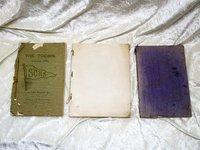 THREE SANTA CLARA California HIGH SCHOOL YEARBOOKS, 1901, 1902, 1907 w/ Photos & Ads