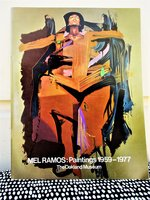 MEL RAMOS: PAINTINGS 1959-1977 Iconic Nudes & Abstracts Oakland Museum of Art by Mel Ramos / Harvey L. Jones
