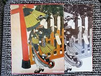 WOODBLOCK PRINTS of HARUNOBU Ukiyo-e Taikei / ILLUSTRATED Japanese Book by Tadashi Kobayashi, editor