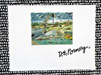 DARRELL FORNEY ARTIST **SIGNED & INSCRIBED** Sacramento ART EXHIBIT Catalog 1993 by Darrell Forney