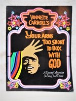 PATTI LABELLE in YOUR ARMS TOO SHORT TO BOX WITH GOD Theatrical Program 1982 by Vinnette Carroll