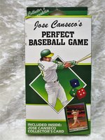 JOSE CANSECO'S PERFECT GAME The Complete Dice Game in its Original Box