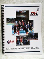 1994 NATIONAL VOLLEYBALL LEAGUE PROSPECTUS / STRATEGIC PLAN an INVESTMENT OPPORTUNITY for forming A NEW SPORTS LEAGUE