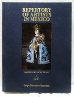 REPERTORY OF ARTISTS IN MEXICO A-F Gorgeous ILLUSTRATIONS Scarce ART REFERENCE by Guillermo Tovar de Teresa