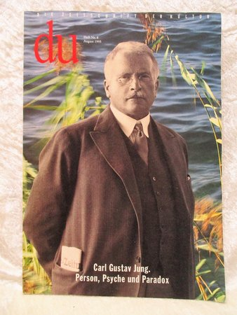 """CARL JUNG: PERSON, PSYCHE UND PARADOX Special Issue of """"DU"""" German Magazine 1995 by Carl Jung"""