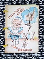 1962 PETALUMA California VINTAGE COOKBOOK RECIPES with Local ADS