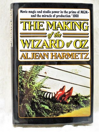 THE WIZARD OF OZ **HAND SIGNED & INSCRIBED** by the WICKED WITCH / Margaret Hamilton, the SCARECROW / Ray Bolger, and 13 MUNCHKINS by Aljean Harmetz