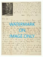 1907 GEORGE STERLING **HANDWRITTEN LETTER** Written at the BOHEMIAN GROVE on BOHEMIAN CLUB Stationery by George Sterling