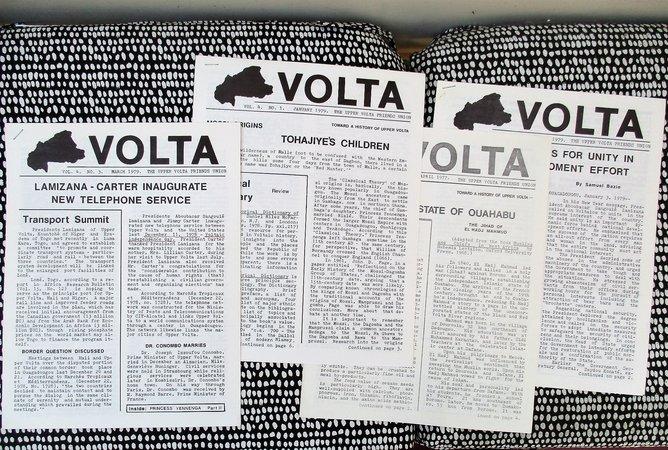 4 Newsletters by Friends of UPPER VOLTA (BURKINA FASO) AFRICA 1977-1979