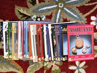 29 CATALOGS of ASHLAND : A CATALOG of FINE and IMPORTANT POCKET WATCHES 2002-2015 Illustrated