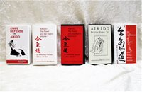 5 Vintage AIKIDO VHS TAPES Knife Defense, Power & Basics, Aikido Seattle Expo 93