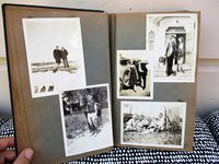 1934-1945 Photo Album TEACHER in WAUSAU & HAYWARD, WISCONSIN with Laid In Letters C. WHITMORE by CHADBOURNE T. WHITMORE