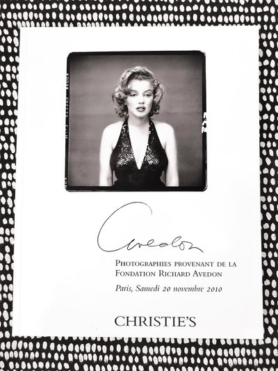 AVEDON : PHOTOGRAPHS from the RICHARD AVEDON FOUNDATION Christie's Catalog 2010
