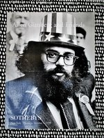 ALLEN GINSBERG AND FRIENDS Items from Ginsberg, Kerouac & Burroughs SOTHEBY'S by Allen Ginsberg, et al