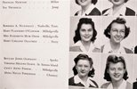 Another image of 1944 FLANNERY O'CONNOR COLLEGE YEARBOOK Her Name, Photo & Drawings Throughout by Flannery O'Connor