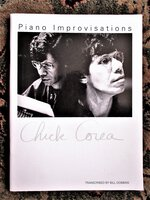 CHICK COREA Songbook PIANO IMPROVISATIONS Sheet Music / Transcribed Scores JAZZ by Chick Corea