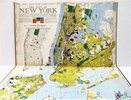 Another image of 1939 FORTUNE MAGAZINE Special NEW YORK CITY Issue with FOLDING MAP - Bound in Hardcovers