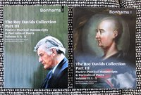 POETICAL MANUSCRIPTS & PORTRAITS of POETS Roy Davids Collection VOLUMES I & II