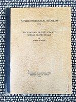 Archaeology KODIAK ISLAND, ALASKA Harpoons, Projectile Points, Darts, Fish Hooks with 85 PLATES by Robert F. Heizer